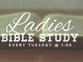 Ladies Bible Study